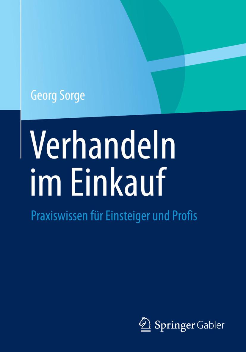 Sorge, Georg - Verhandeln im Einkauf, ebook