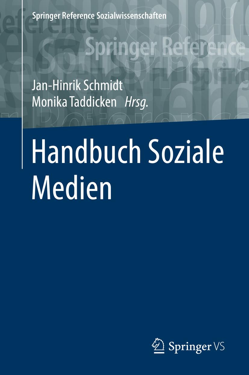 Schmidt, Jan-Hinrik - Handbuch Soziale Medien, ebook