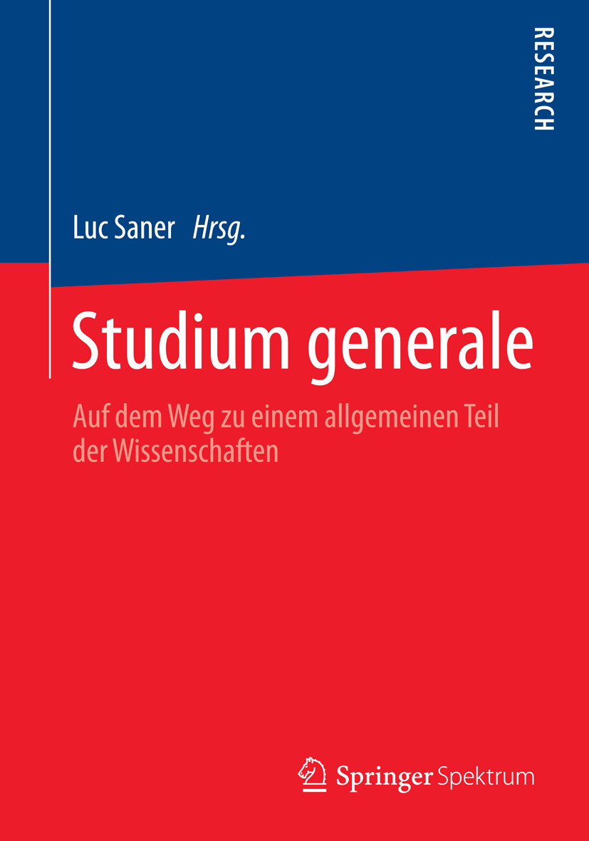 Saner, Luc - Studium generale, ebook