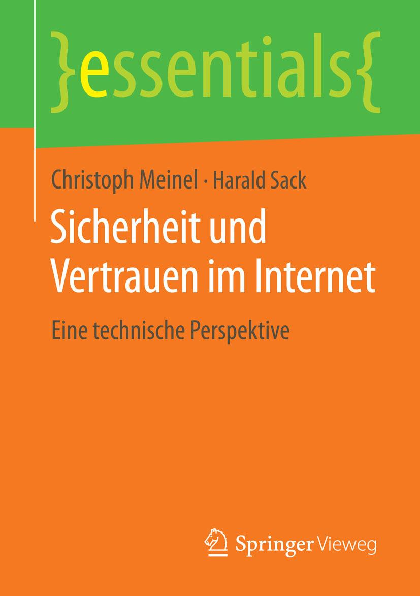 Meinel, Christoph - Sicherheit und Vertrauen im Internet, ebook
