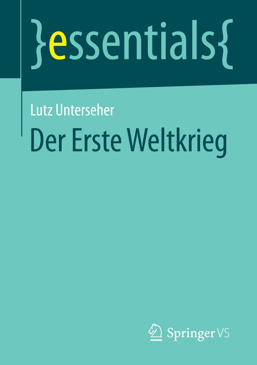 Unterseher, Lutz - Der Erste Weltkrieg, ebook