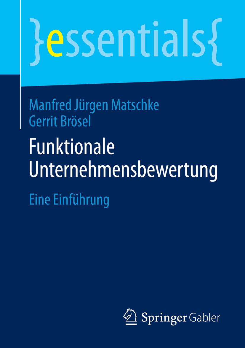 Brösel, Gerrit - Funktionale Unternehmensbewertung, ebook