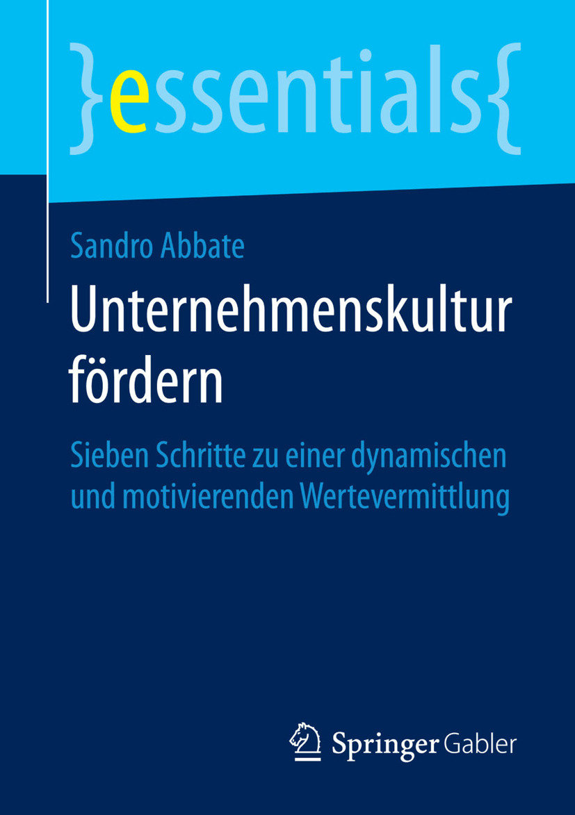 Abbate, Sandro - Unternehmenskultur fördern, ebook