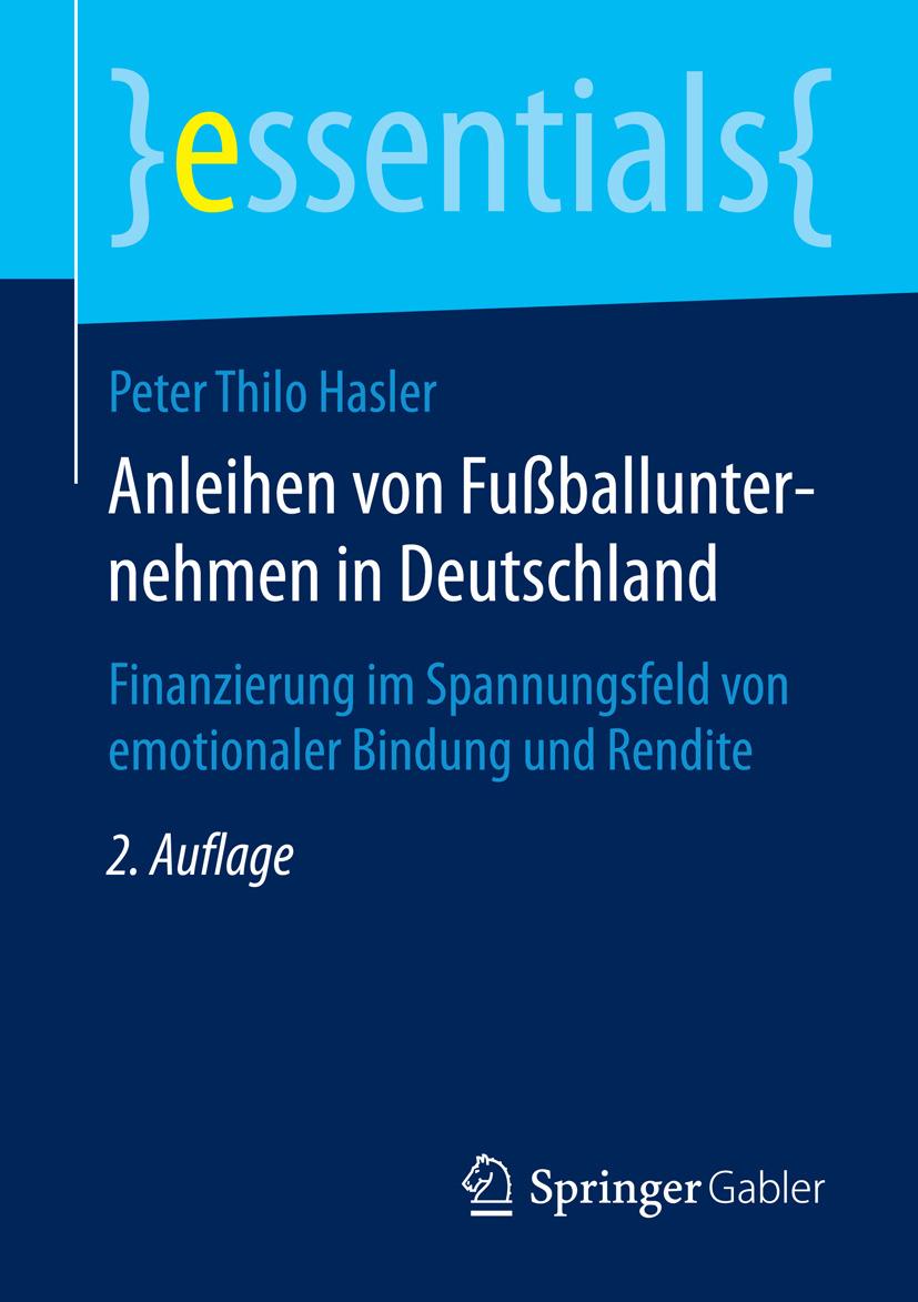 Hasler, Peter Thilo - Anleihen von Fußballunternehmen in Deutschland, ebook