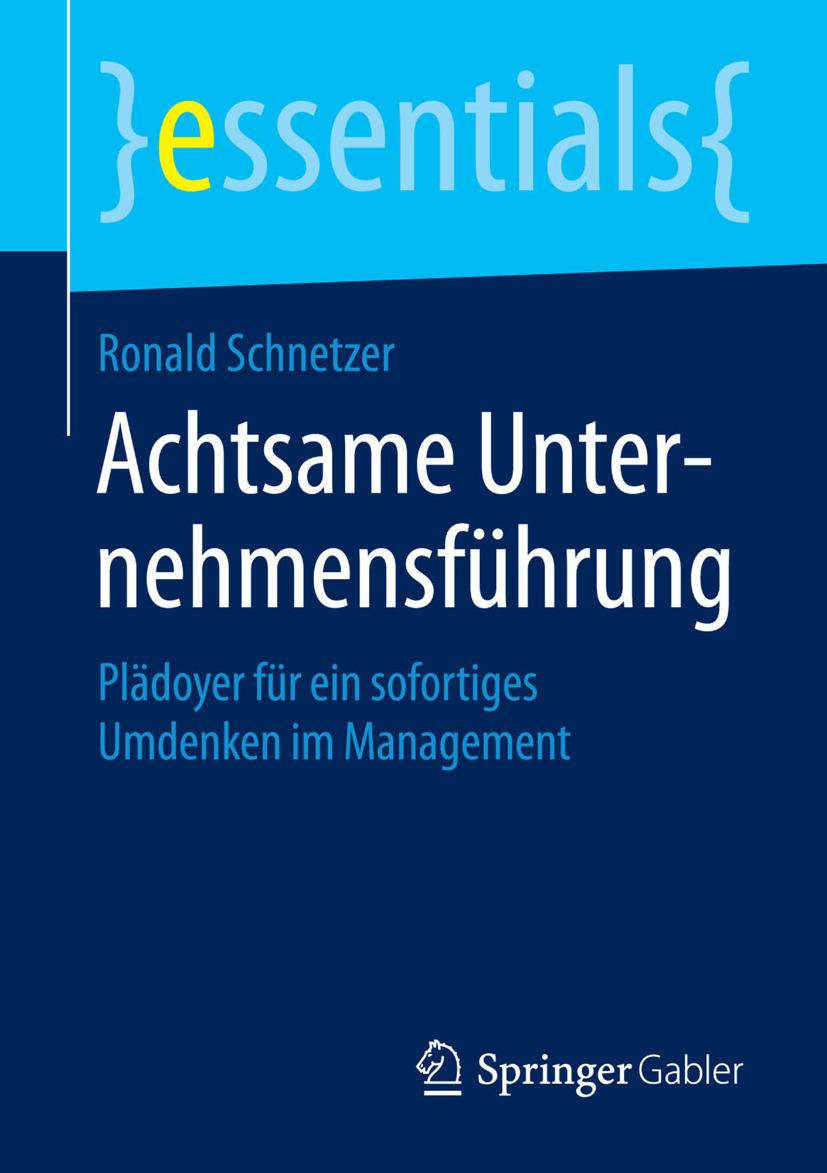 Schnetzer, Ronald - Achtsame Unternehmensführung, ebook