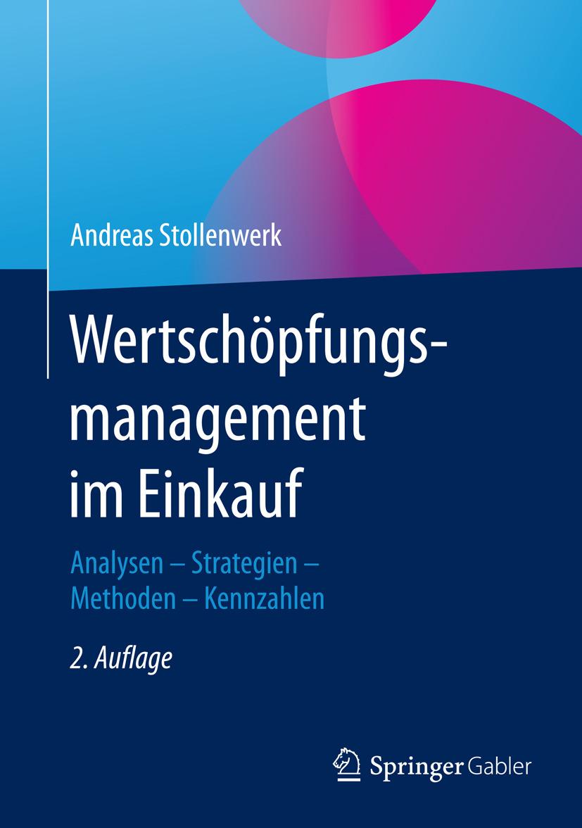 Stollenwerk, Andreas - Wertschöpfungsmanagement im Einkauf, ebook