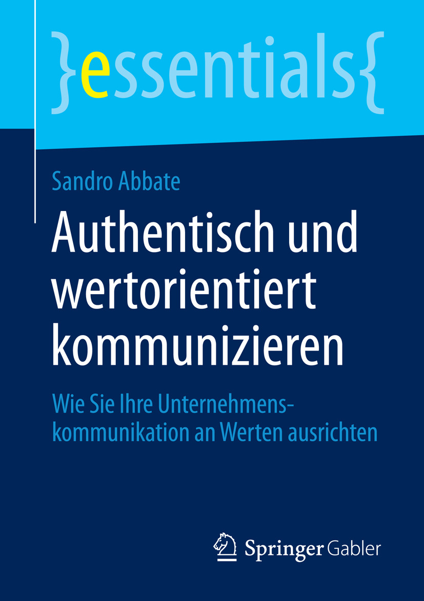 Abbate, Sandro - Authentisch und wertorientiert kommunizieren, ebook