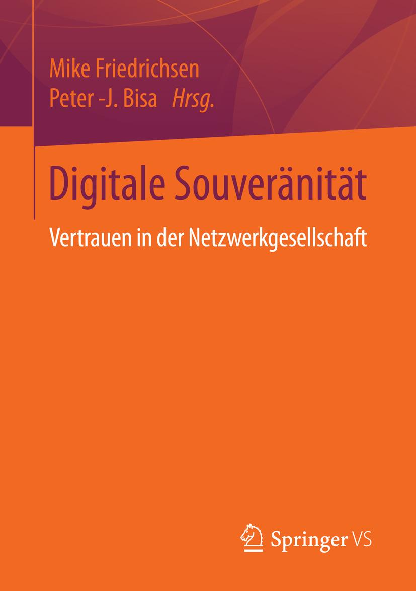 Bisa, Peter -J. - Digitale Souveränität, ebook