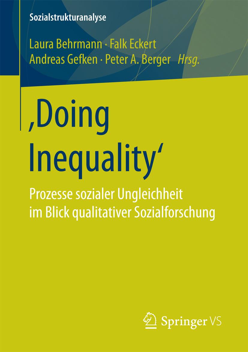 Behrmann, Laura - 'Doing Inequality', ebook