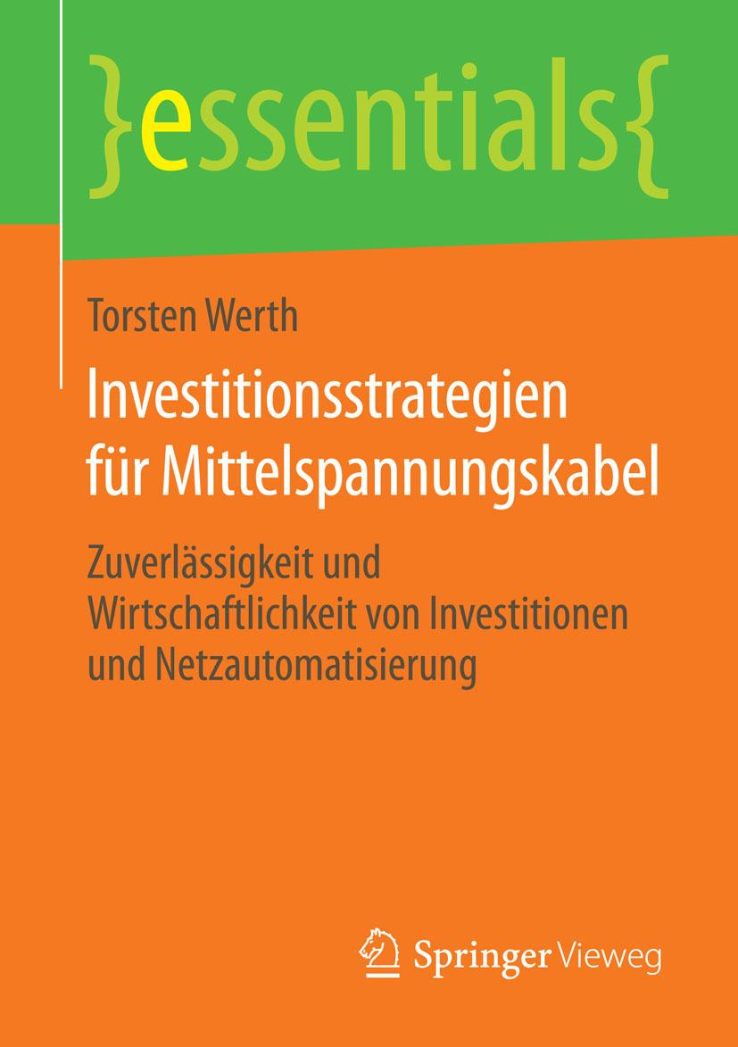 Werth, Torsten - Investitionsstrategien für Mittelspannungskabel, ebook