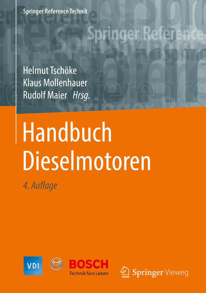 Maier, Rudolf - Handbuch Dieselmotoren, ebook