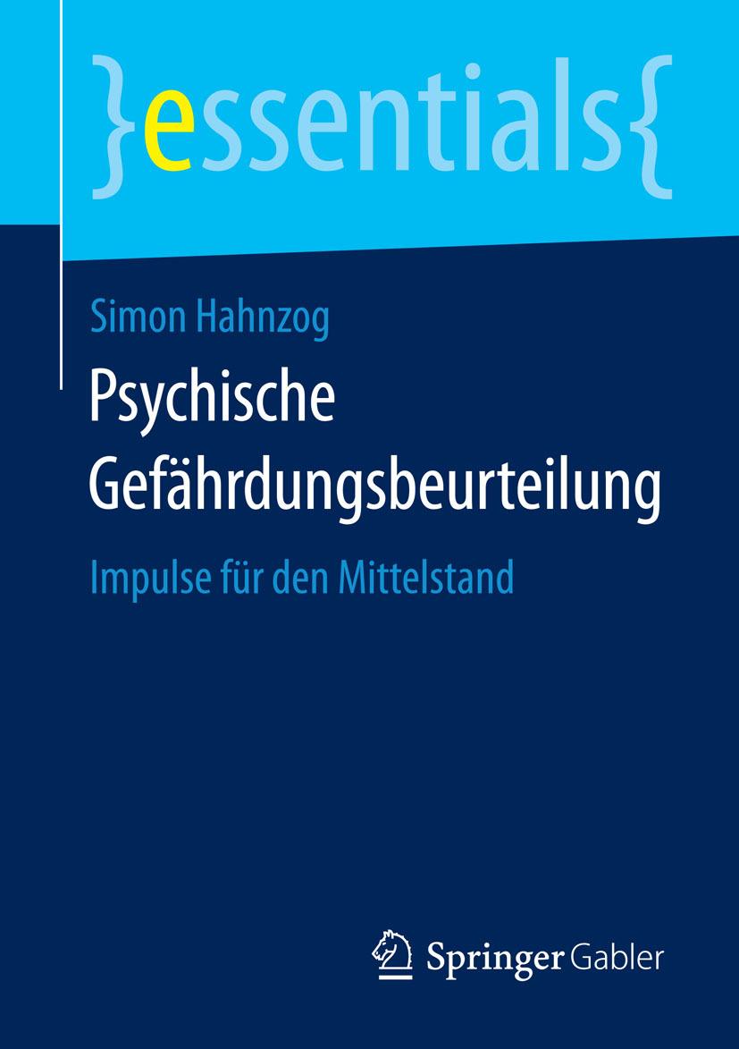 Hahnzog, Simon - Psychische Gefährdungsbeurteilung, ebook