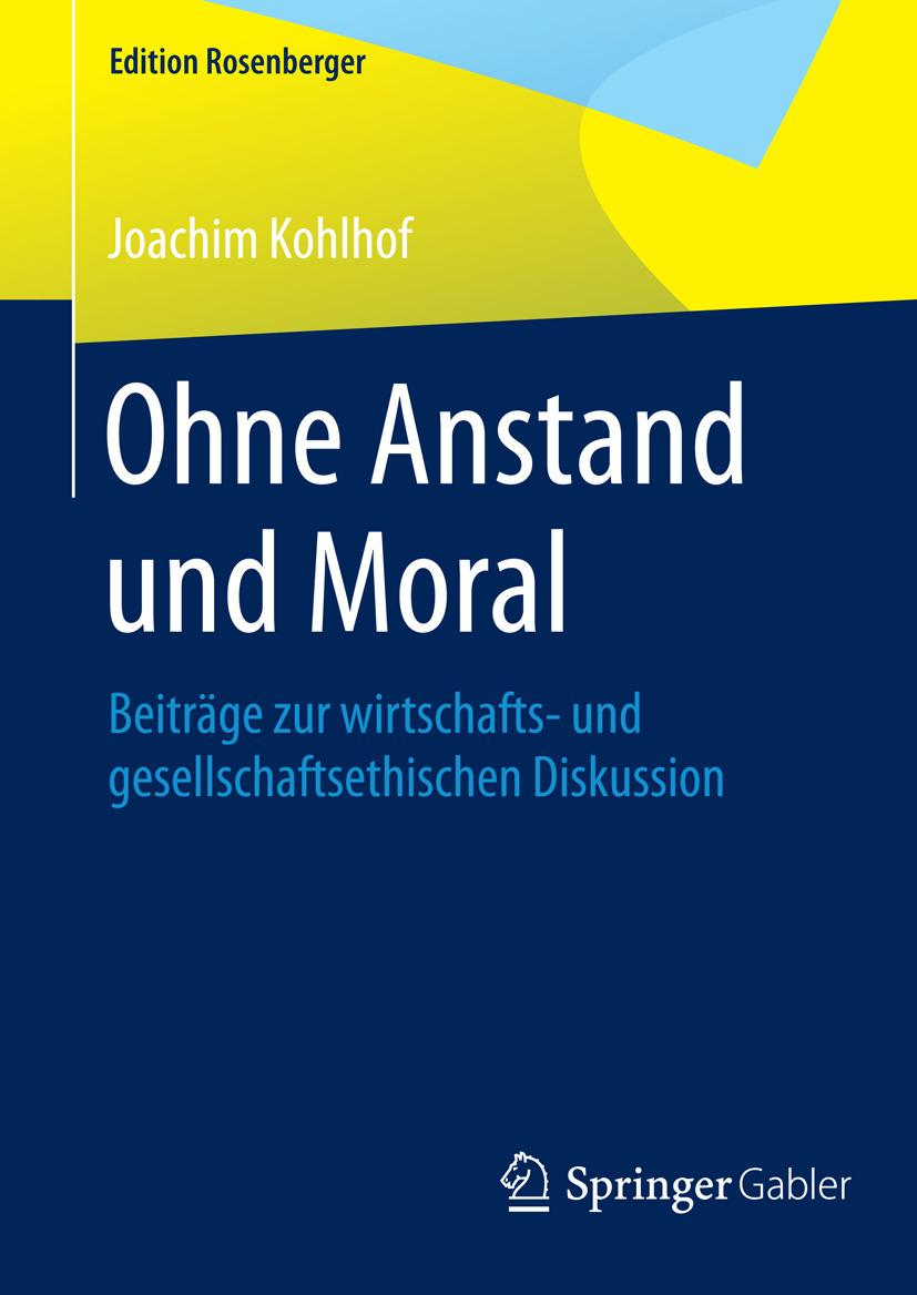 Kohlhof, Joachim - Ohne Anstand und Moral, ebook