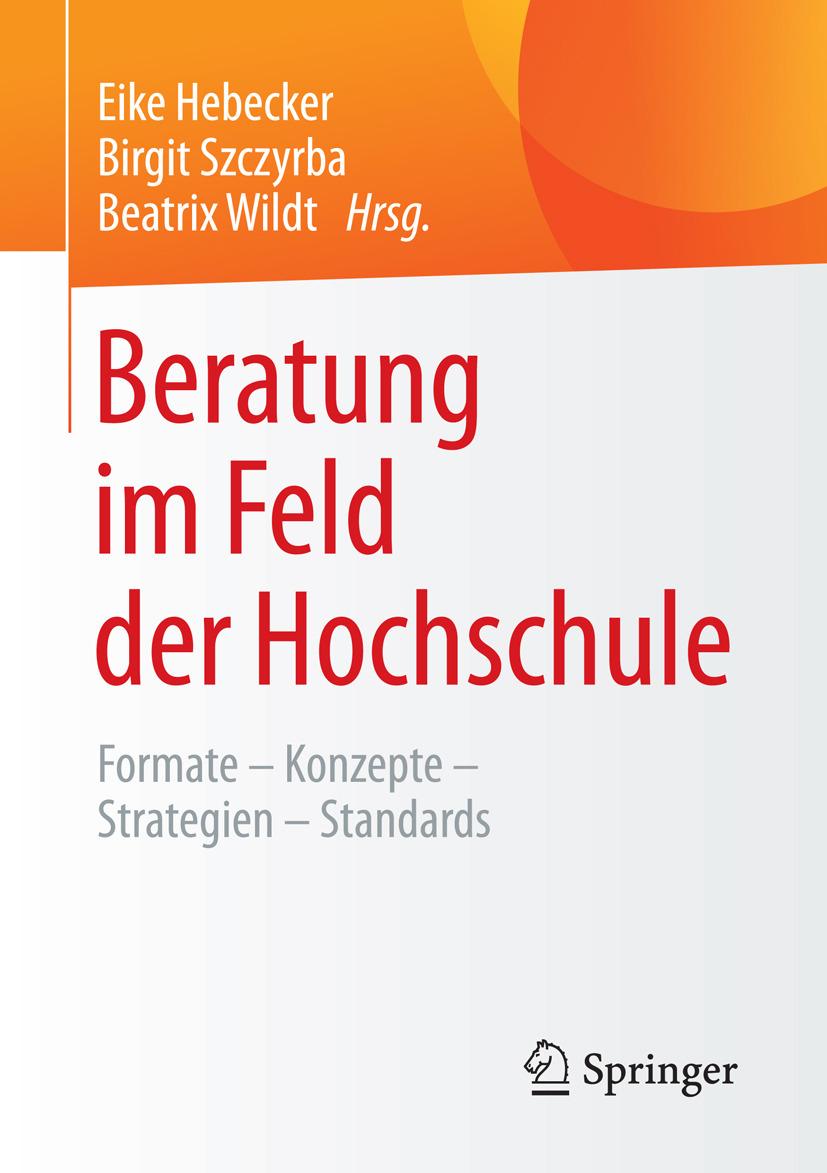 Hebecker, Eike - Beratung im Feld der Hochschule, e-kirja