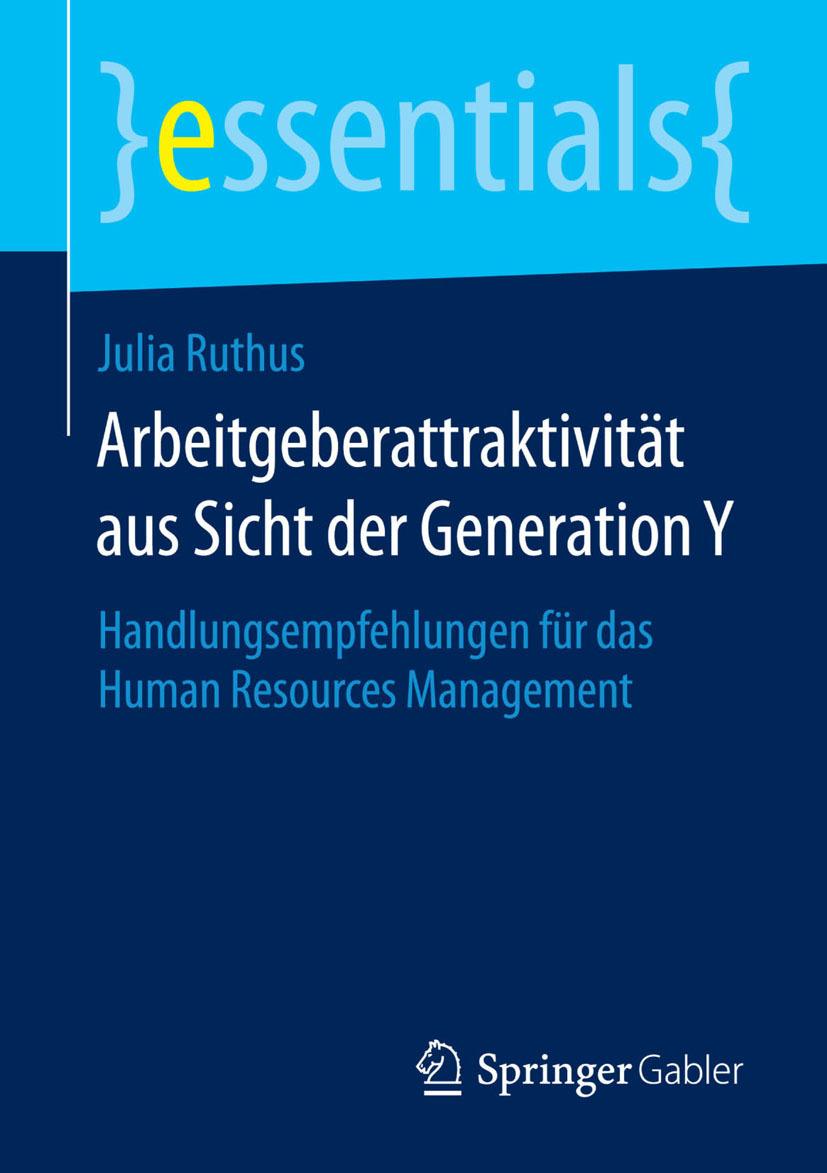 Ruthus, Julia - Arbeitgeberattraktivität aus Sicht der Generation Y, ebook
