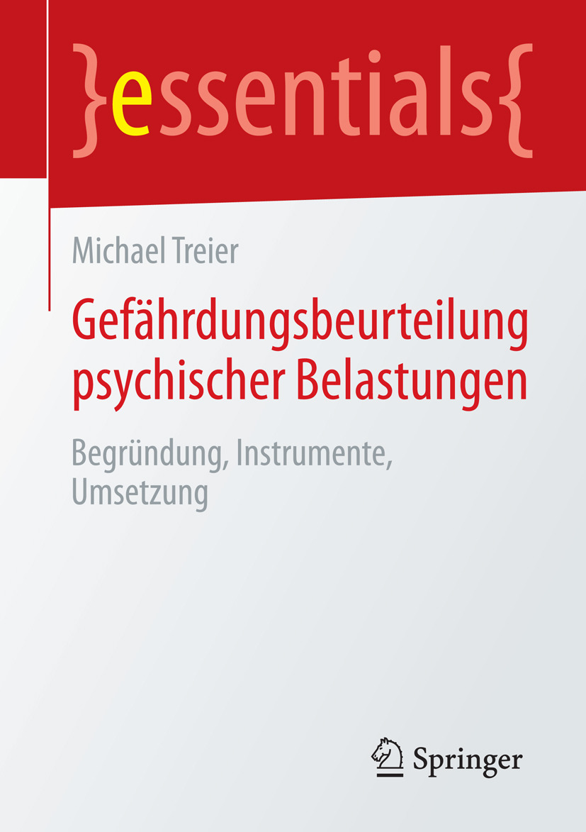 Treier, Michael - Gefährdungsbeurteilung psychischer Belastungen, ebook