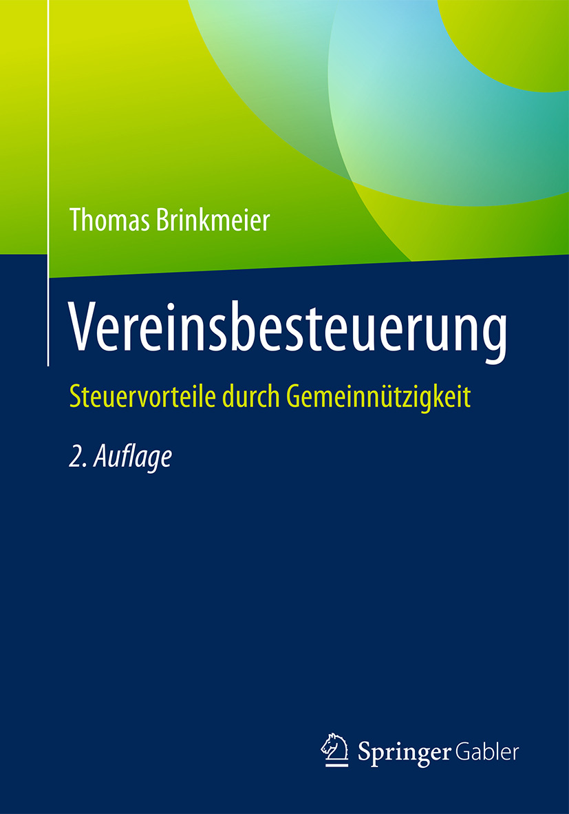 Brinkmeier, Thomas - Vereinsbesteuerung, ebook