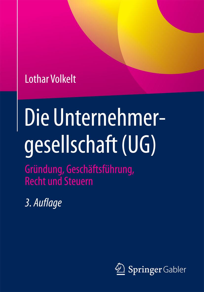 Volkelt, Lothar - Die Unternehmergesellschaft (UG), ebook
