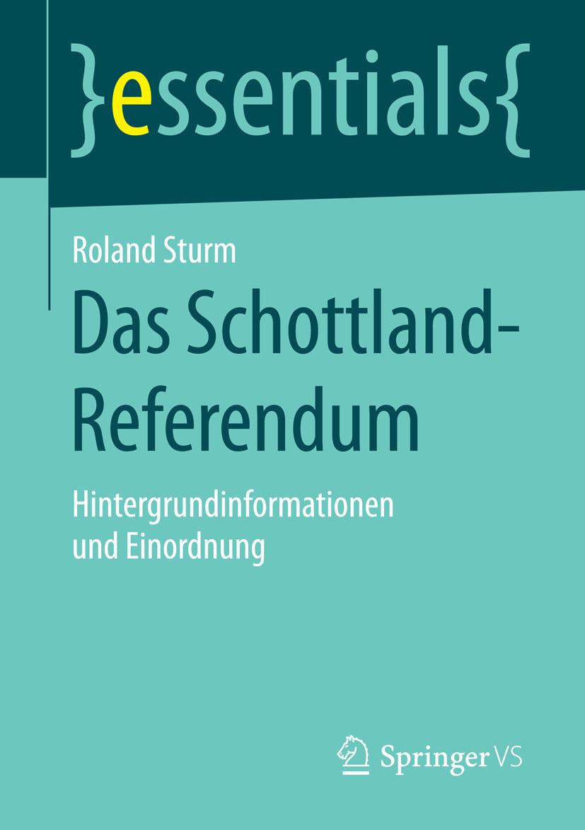 Sturm, Roland - Das Schottland-Referendum, ebook