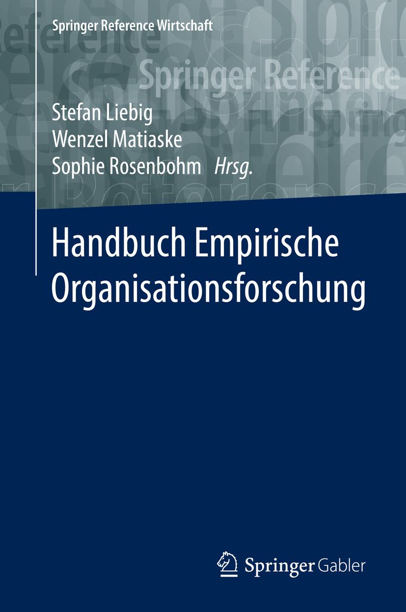Liebig, Stefan - Handbuch Empirische Organisationsforschung, ebook
