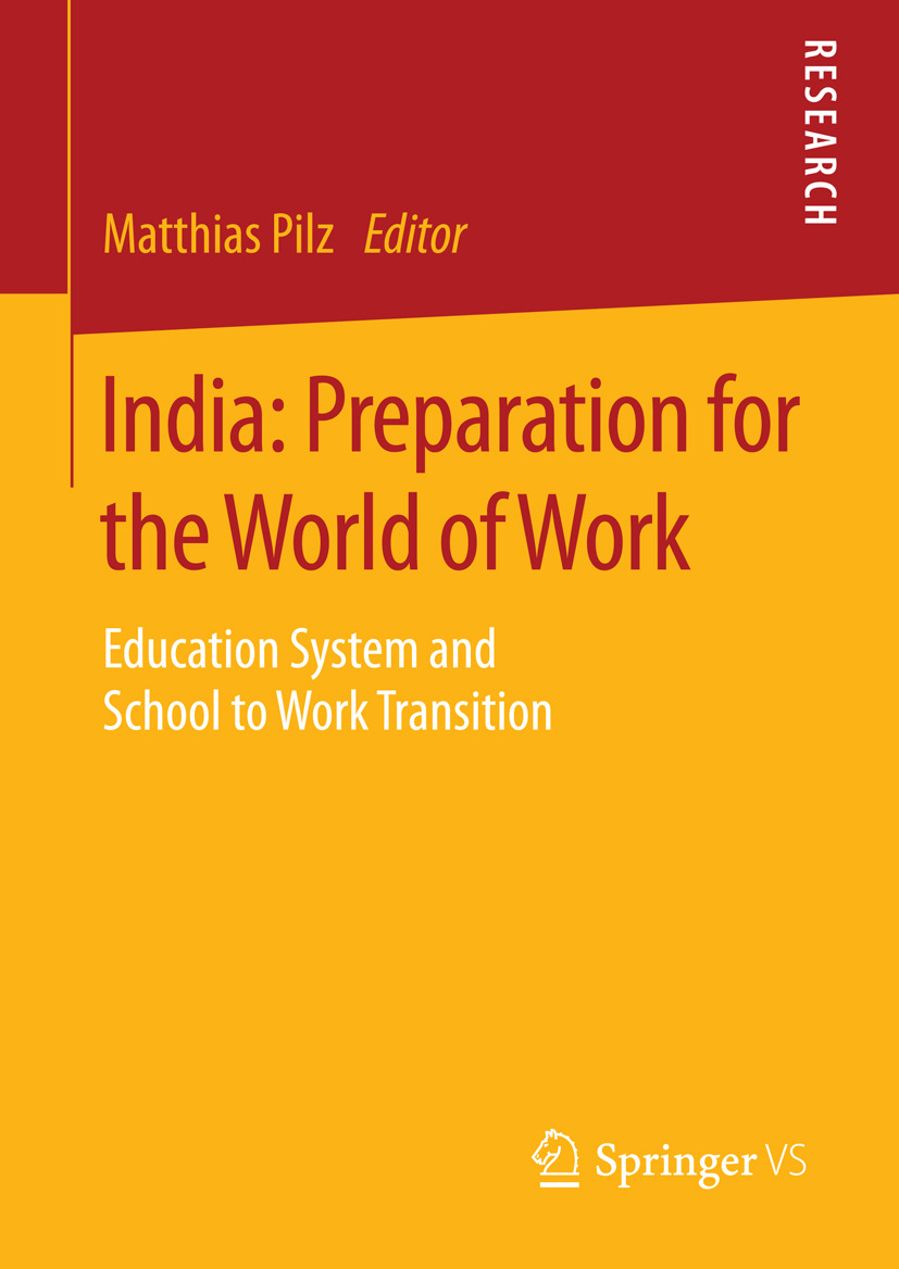 Pilz, Matthias - India: Preparation for the World of Work, ebook