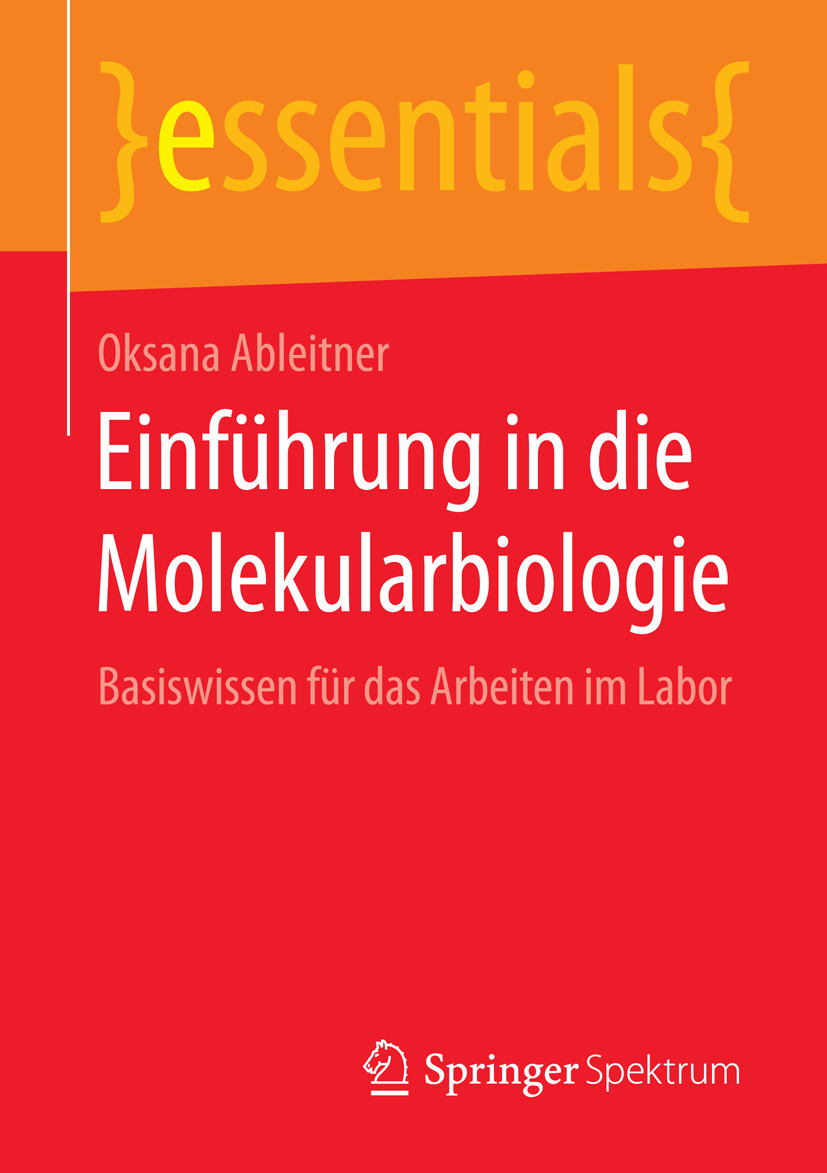 Ableitner, Oksana - Einführung in die Molekularbiologie, ebook