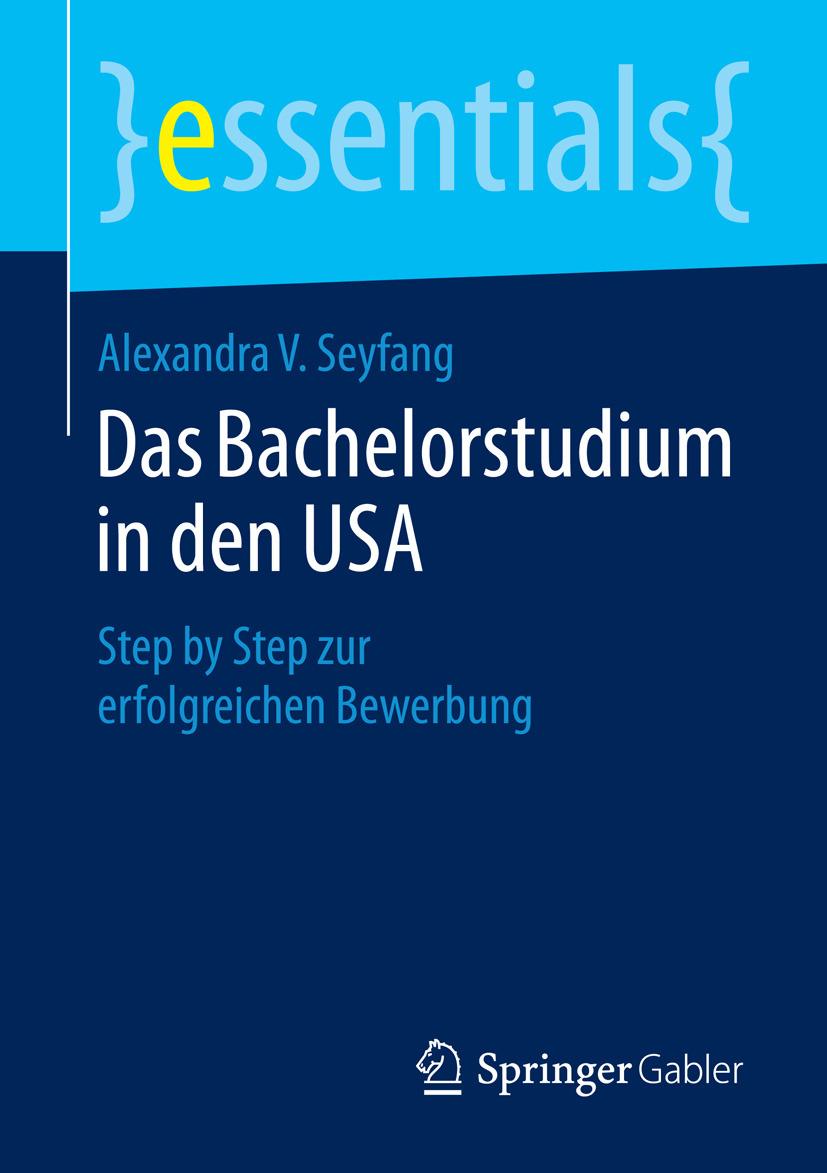 Seyfang, Alexandra V. - Das Bachelorstudium in den USA, ebook