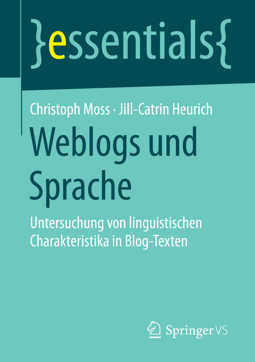Heurich, Jill-Catrin - Weblogs und Sprache, ebook