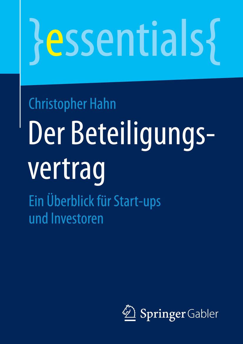 Hahn, Christopher - Der Beteiligungsvertrag, ebook