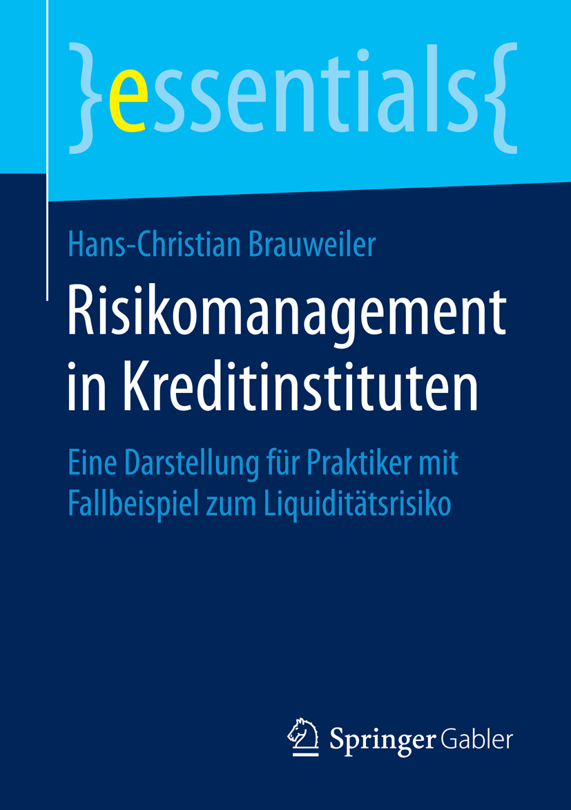 Brauweiler, Hans-Christian - Risikomanagement in Kreditinstituten, ebook