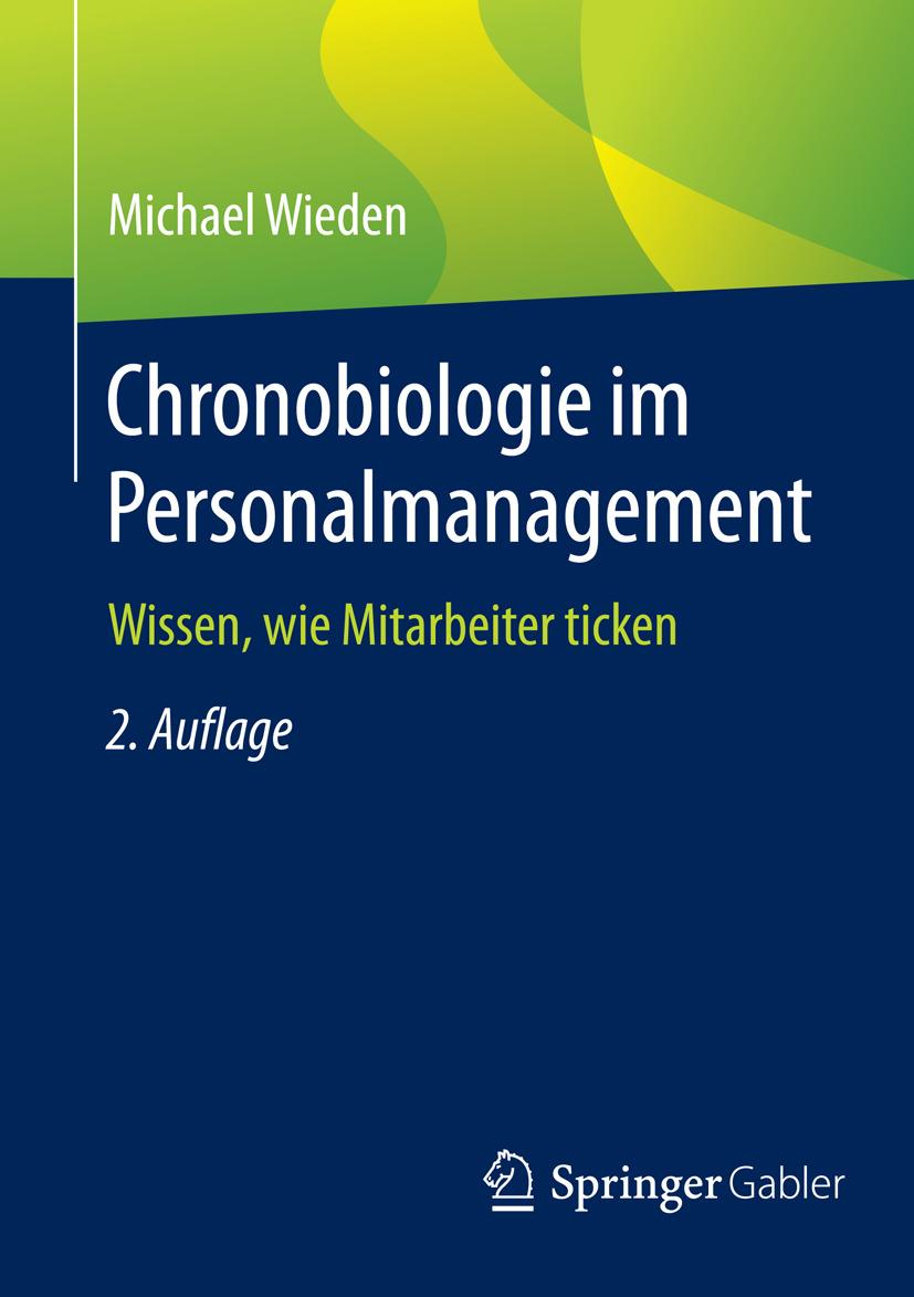 Wieden, Michael - Chronobiologie im Personalmanagement, e-kirja