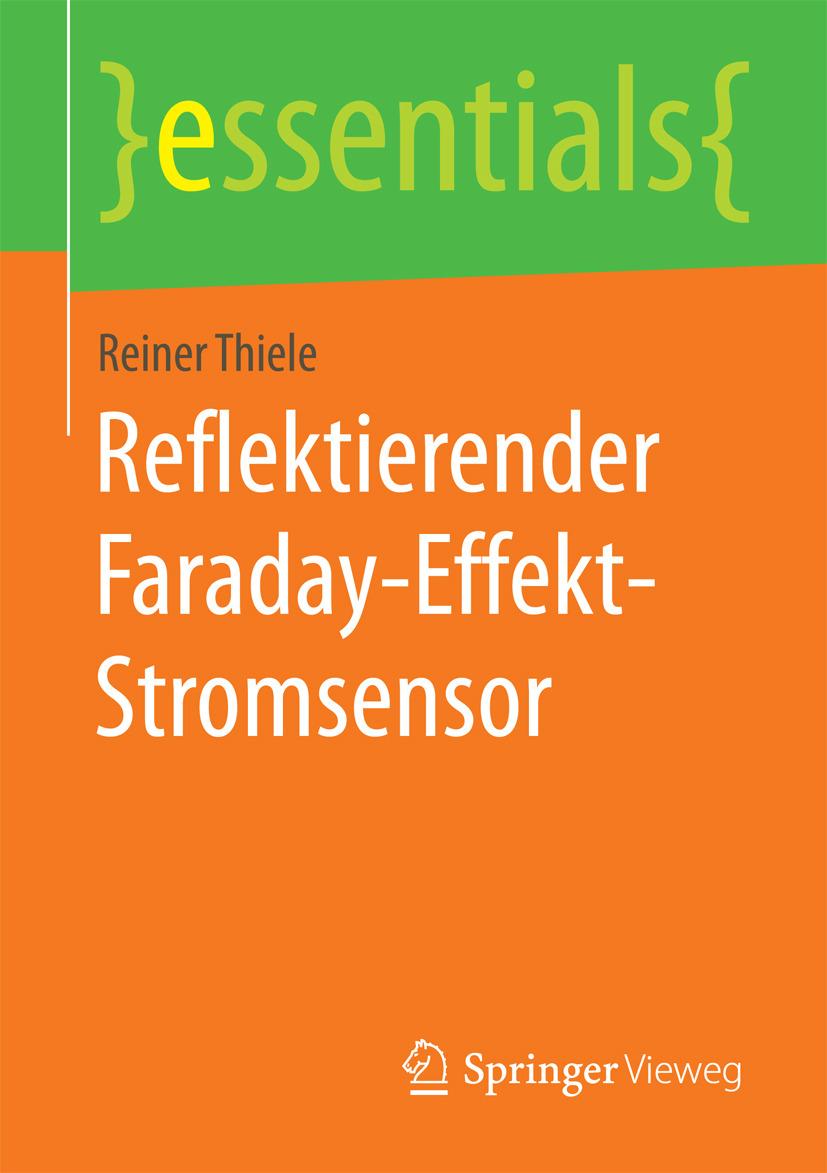 Thiele, Reiner - Reflektierender Faraday-Effekt-Stromsensor, ebook