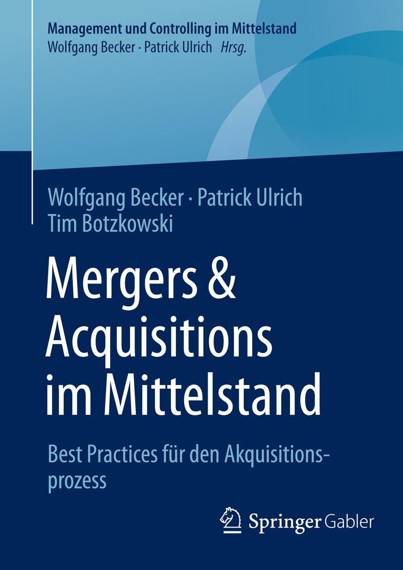 Becker, Wolfgang - Mergers & Acquisitions im Mittelstand, ebook