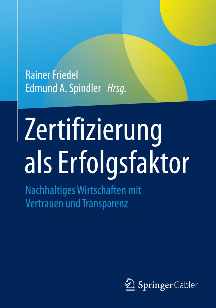 Friedel, Rainer - Zertifizierung als Erfolgsfaktor, ebook