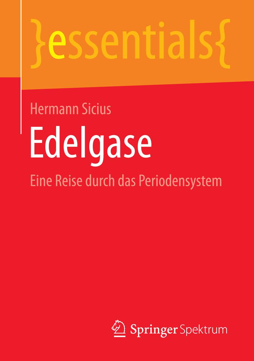 Sicius, Hermann - Edelgase, ebook