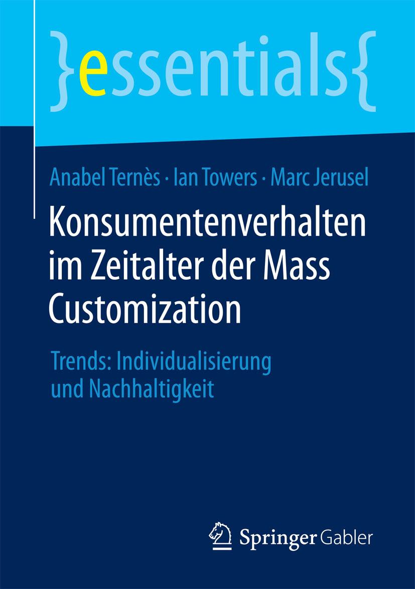 Jerusel, Marc - Konsumentenverhalten im Zeitalter der Mass Customization, e-kirja