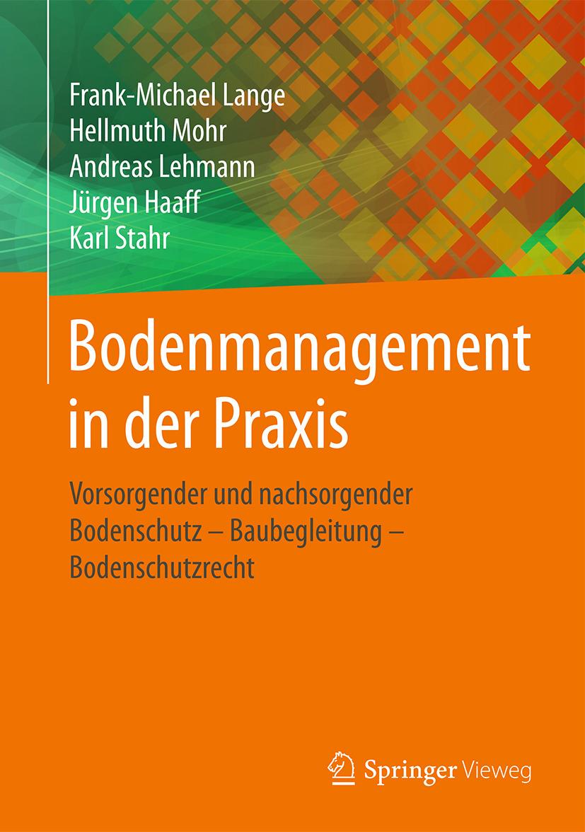 Haaff, Jürgen - Bodenmanagement in der Praxis, ebook