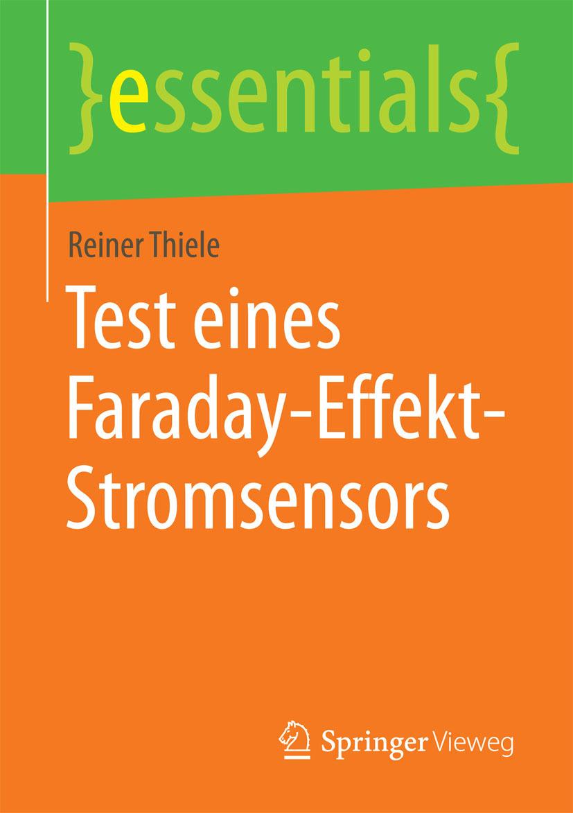 Thiele, Reiner - Test eines Faraday-Effekt-Stromsensors, ebook