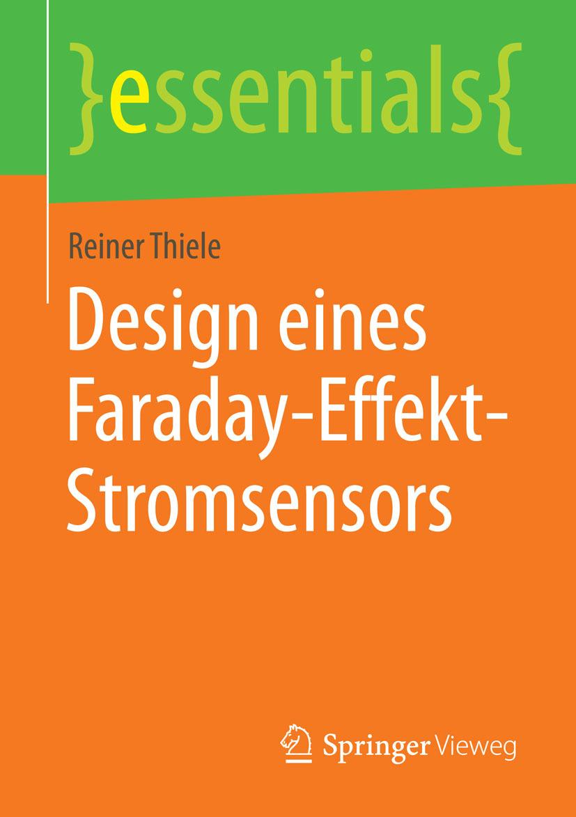 Thiele, Reiner - Design eines Faraday-Effekt-Stromsensors, ebook
