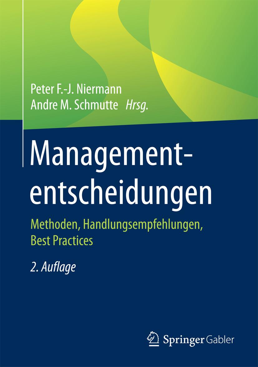Niermann, Peter F.-J. - Managemententscheidungen, ebook