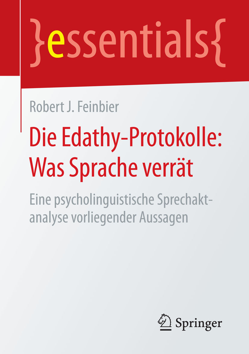 Feinbier, Robert J. - Die Edathy-Protokolle: Was Sprache verrät, ebook
