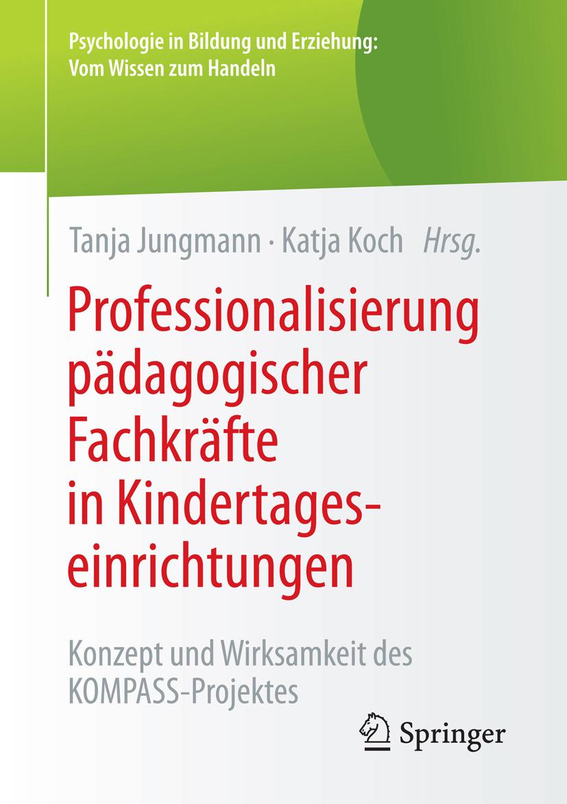 Jungmann, Tanja - Professionalisierung pädagogischer Fachkräfte in Kindertageseinrichtungen, ebook