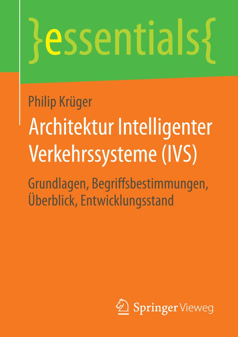 Krüger, Philip - Architektur Intelligenter Verkehrssysteme (IVS), ebook