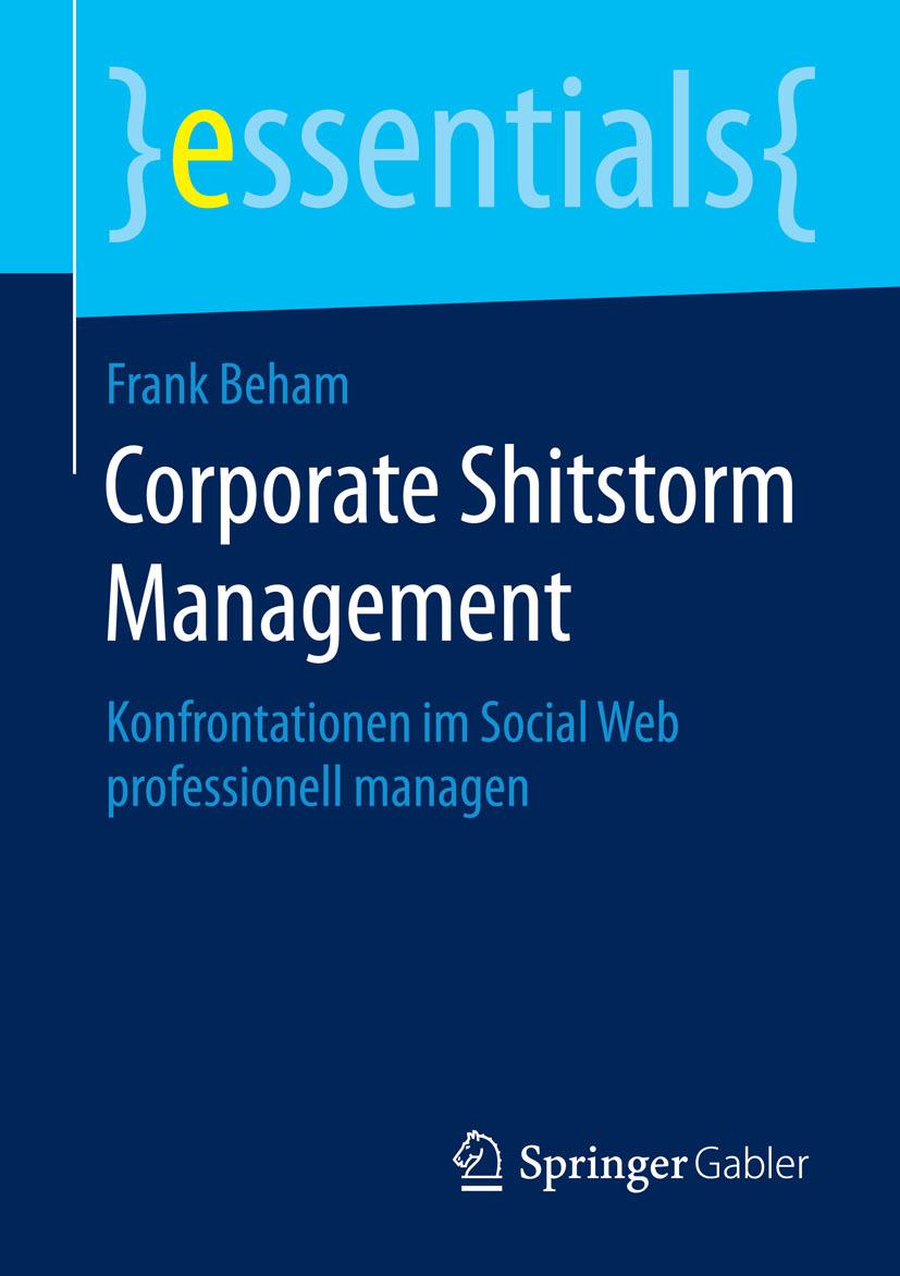 Beham, Frank - Corporate Shitstorm Management, ebook