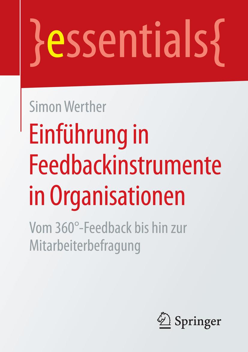 Werther, Simon - Einführung in Feedbackinstrumente in Organisationen, ebook
