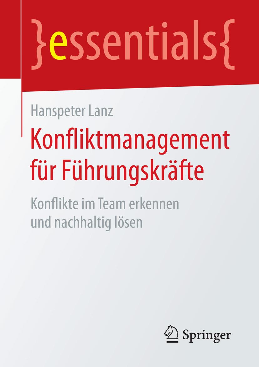 Lanz, Hanspeter - Konfliktmanagement für Führungskräfte, ebook
