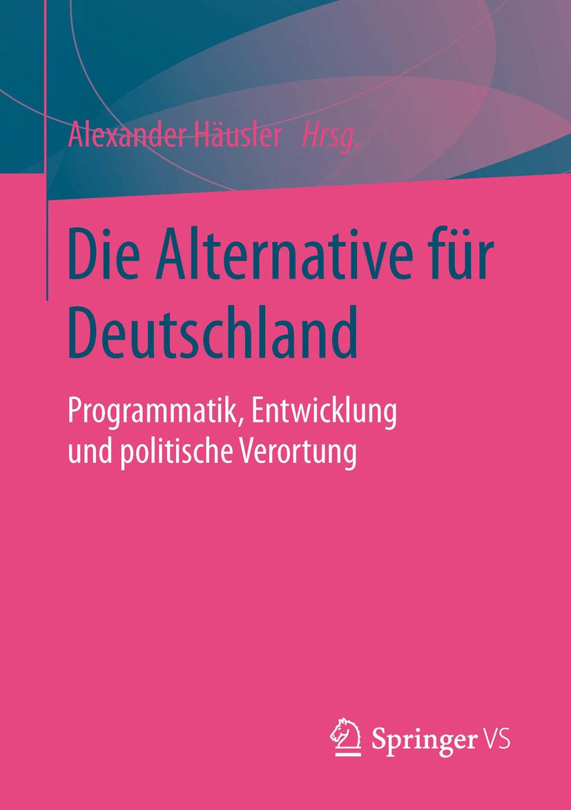 Häusler, Alexander - Die Alternative für Deutschland, ebook