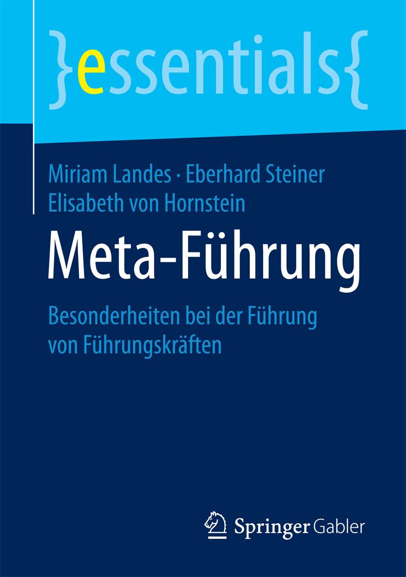 Hornstein, Elisabeth von - Meta-Führung, ebook