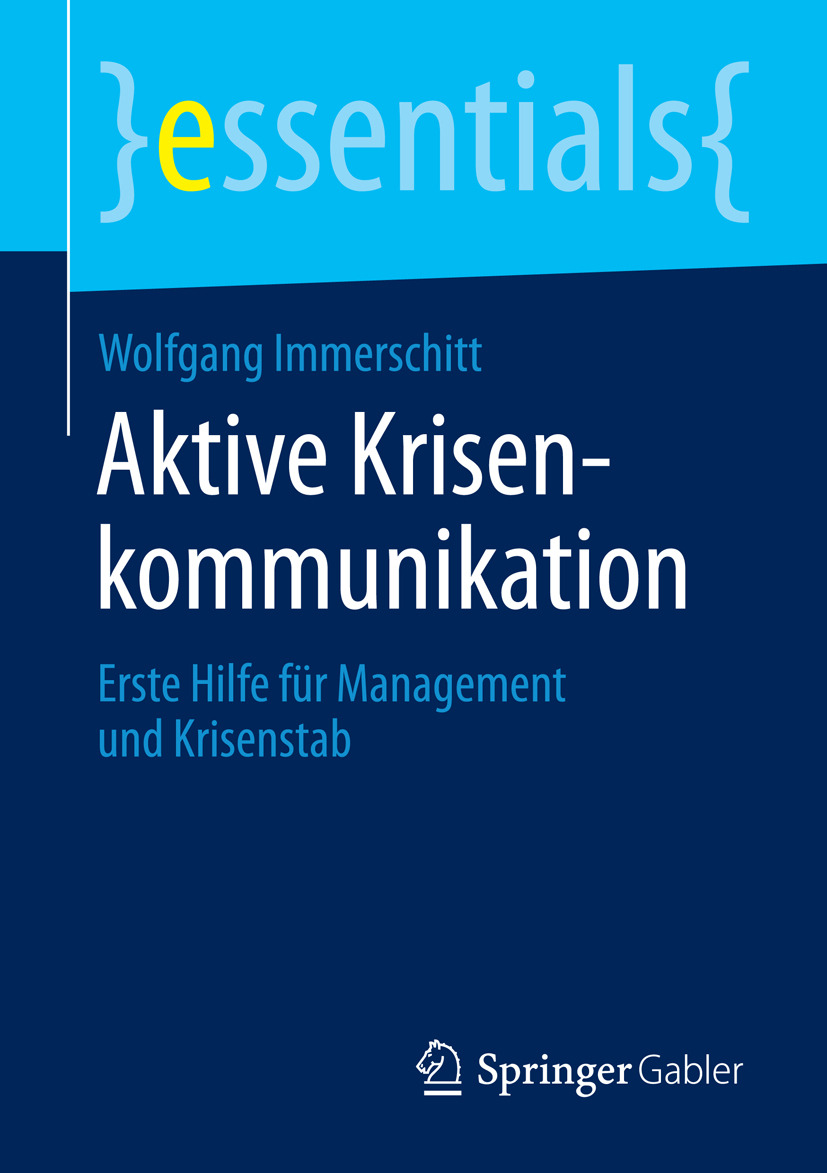 Immerschitt, Wolfgang - Aktive Krisenkommunikation, ebook