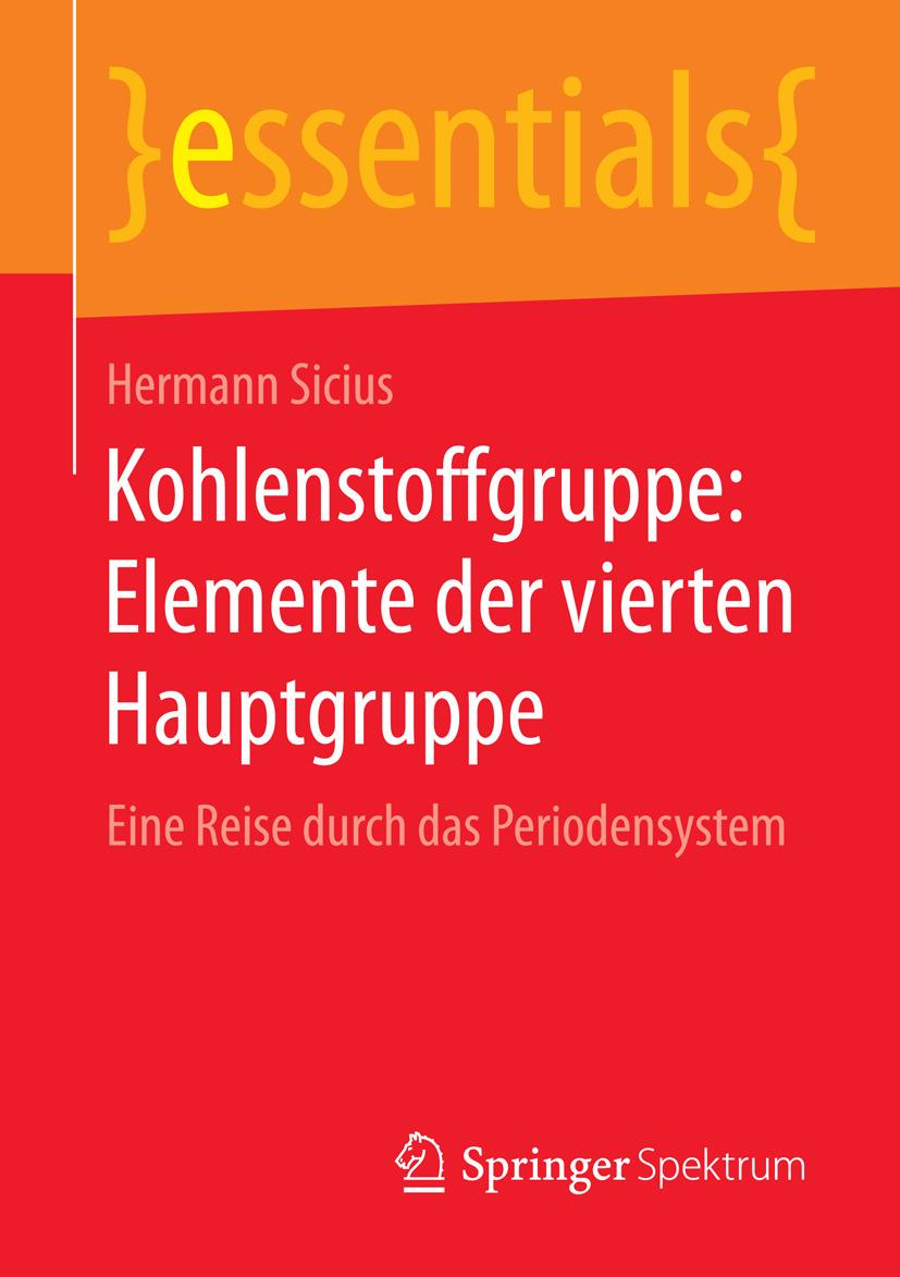 Sicius, Hermann - Kohlenstoffgruppe: Elemente der vierten Hauptgruppe, ebook